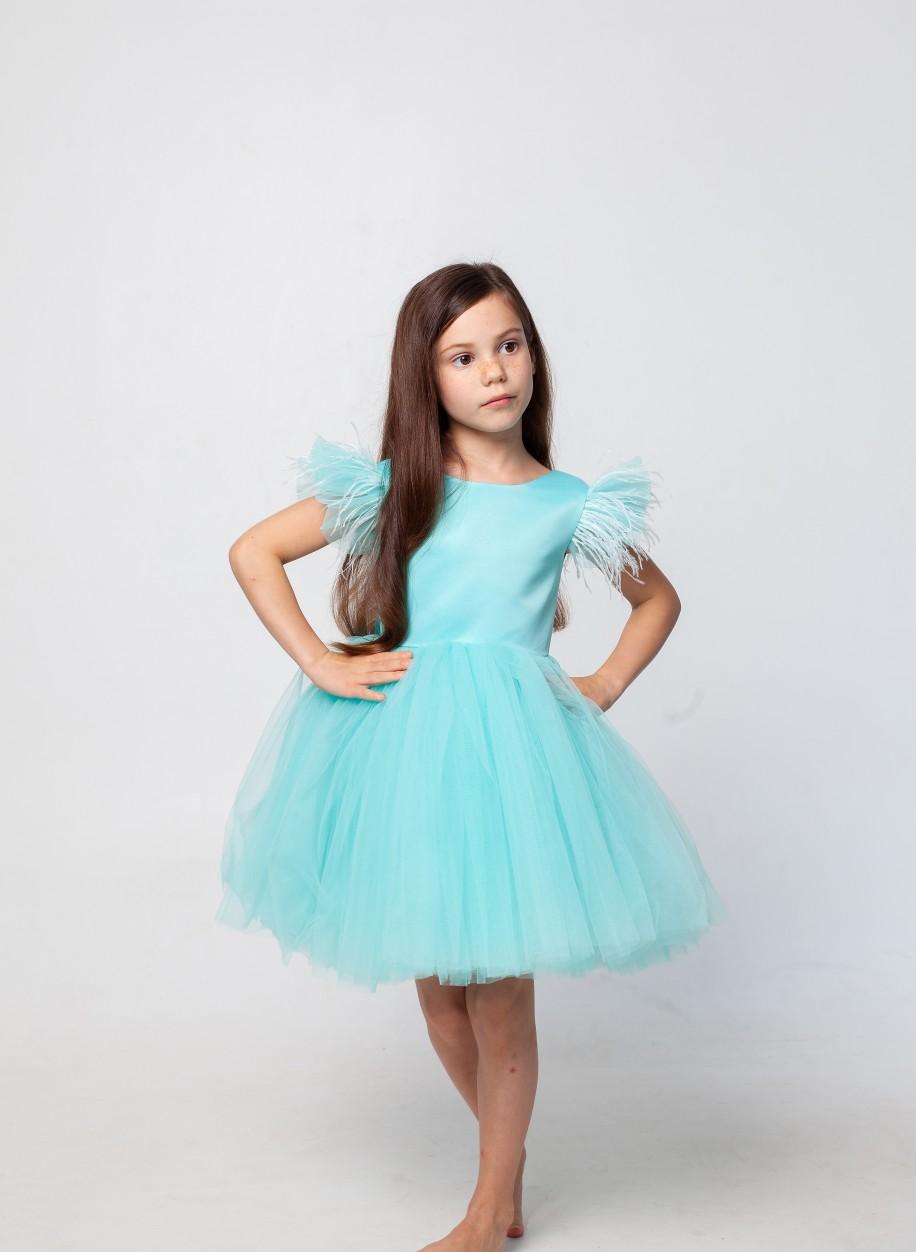 Детское платье Микки короткое