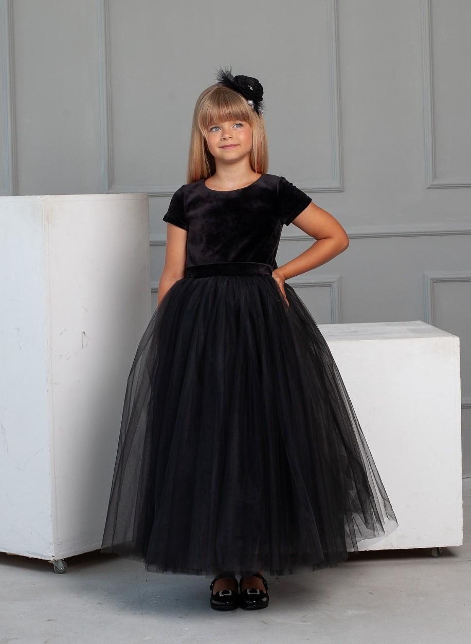 Детское платье Микки бархат