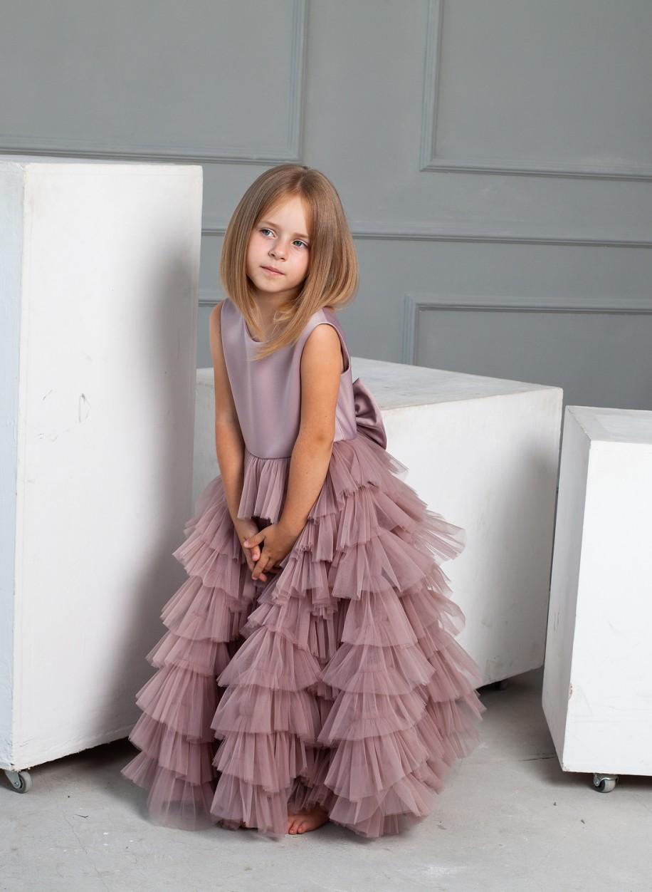 Детское платье с оборками Мерэлин