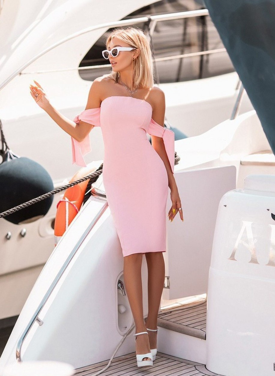 Яркое платье 228