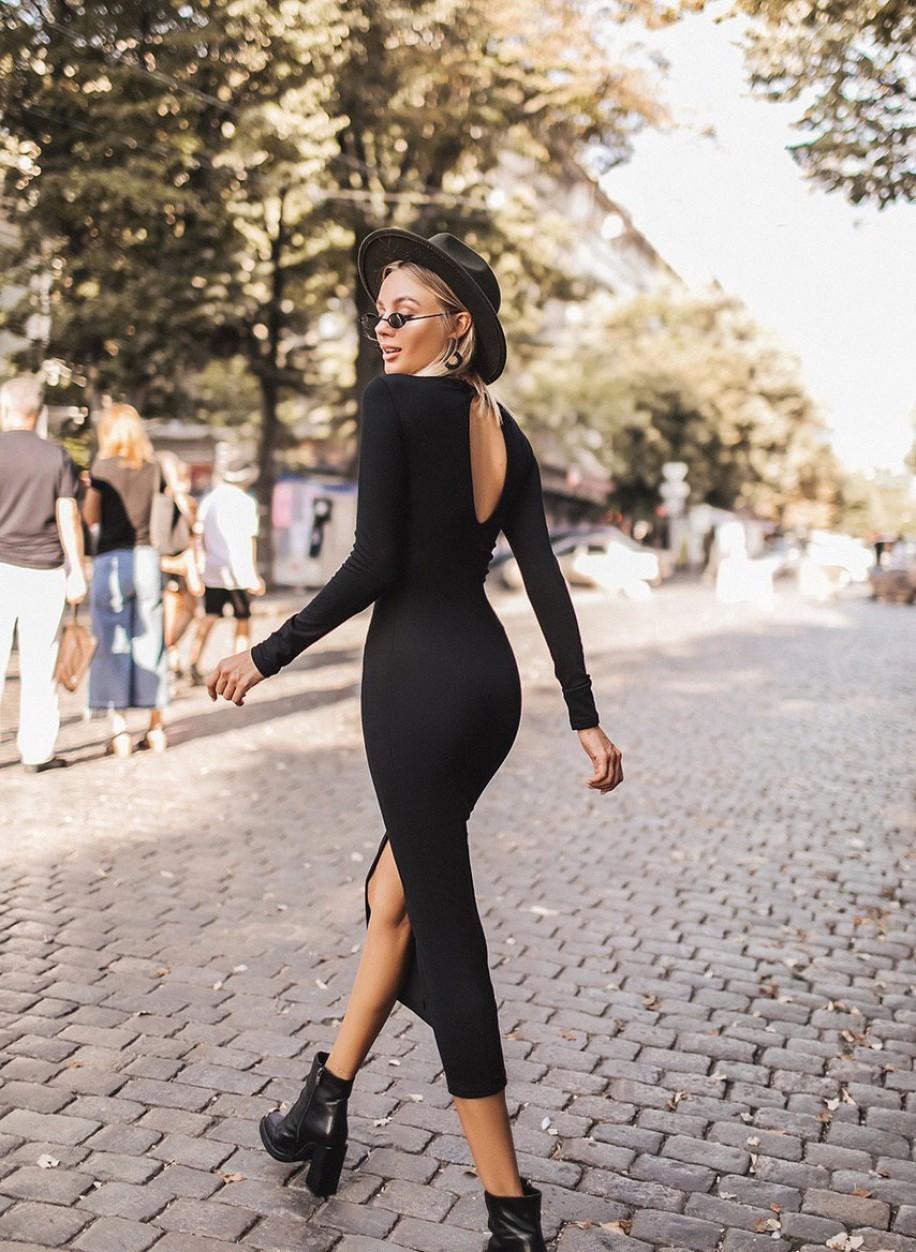 Эффектное платье 313
