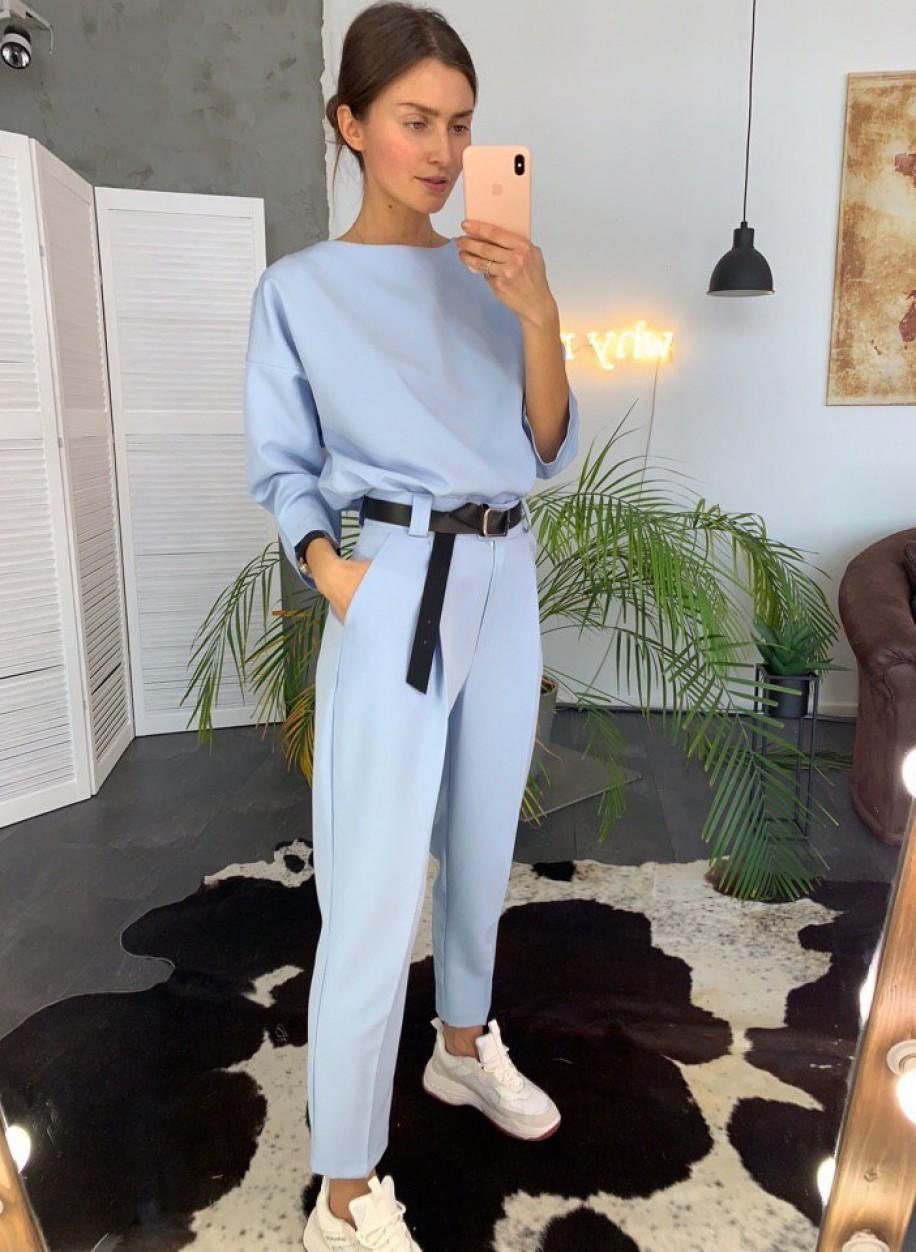 Голубой костюм 159
