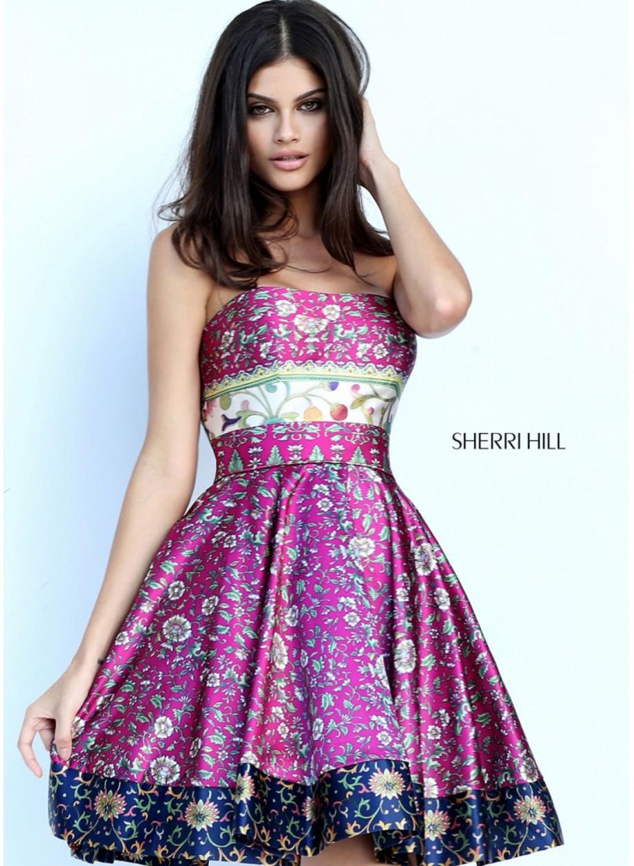Коктейльное платье Sherri Hill 50794