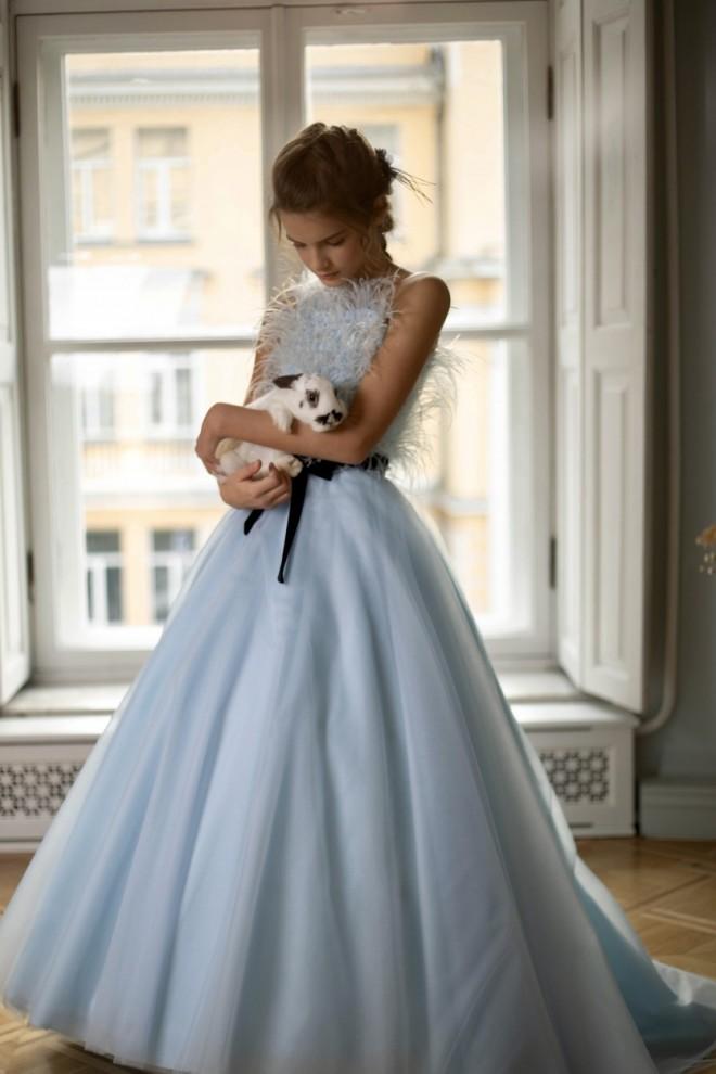 Нарядное платье для девочки Вероник