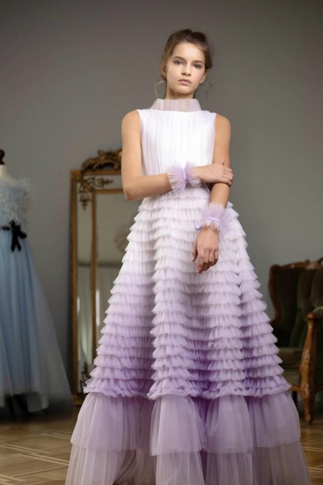 Платье на свадьбу для девочки Вивьен
