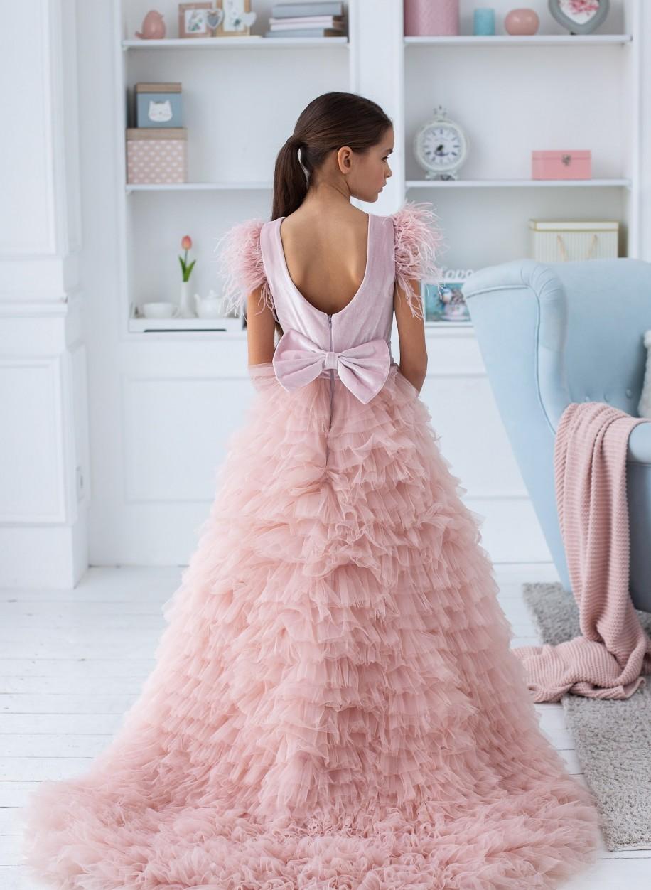 Детское платье Мисси бархат