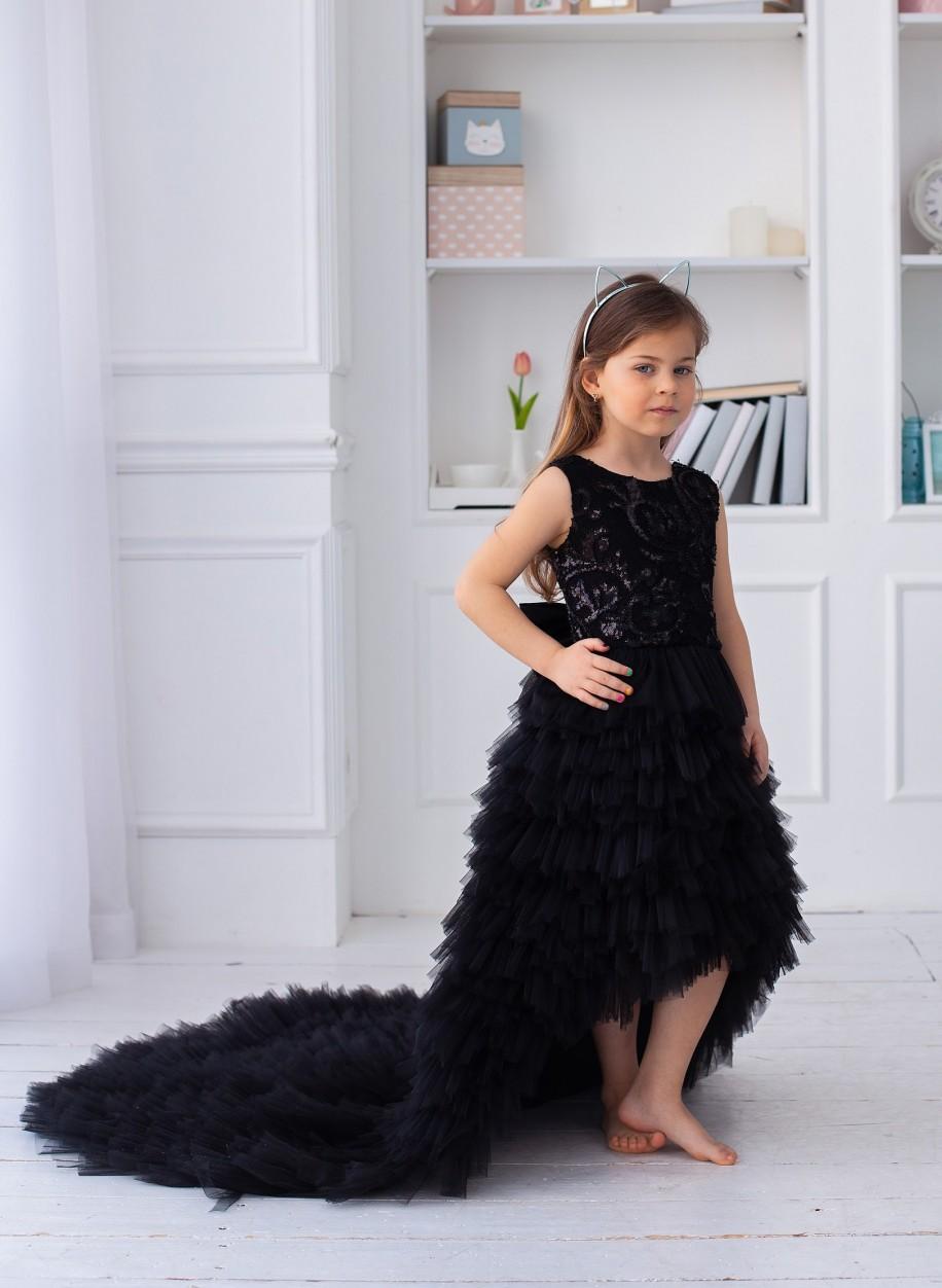 Детское платье Мисси гипюр