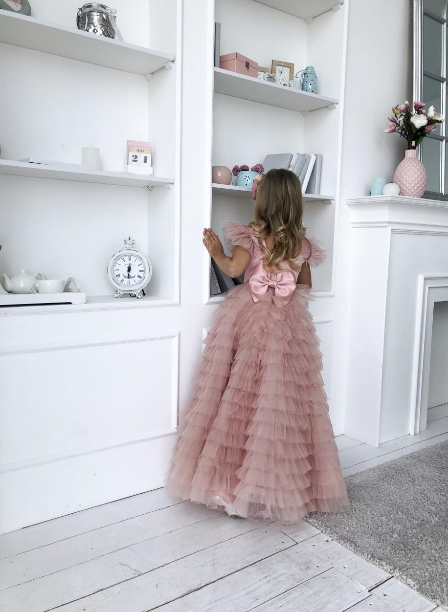 Детское платье Мисси атлас..
