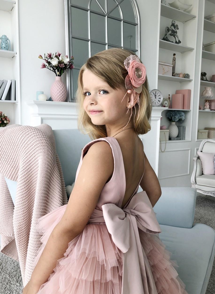 Детское платье Мэрилин атлас