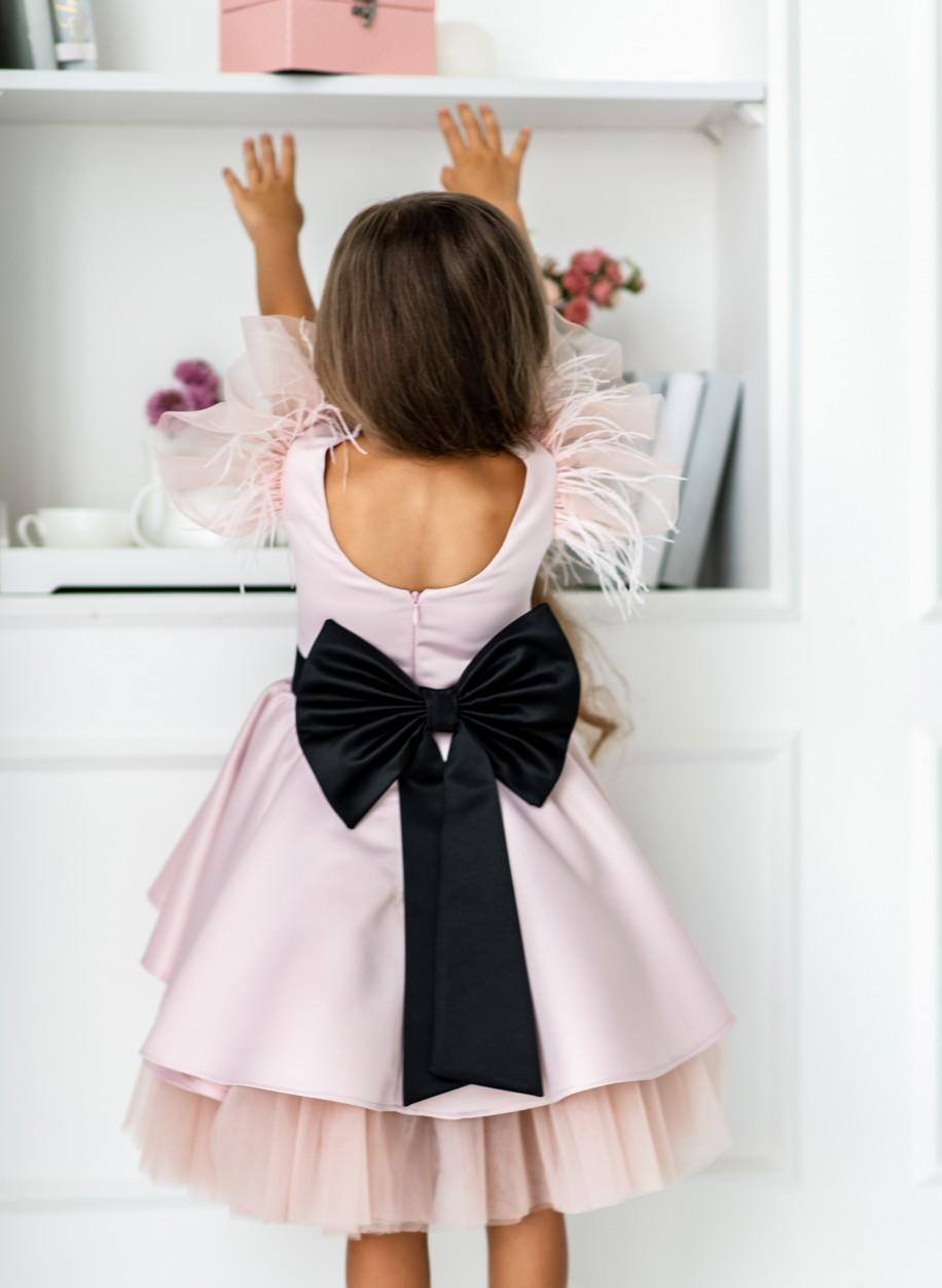 Детское платье Миа атлас