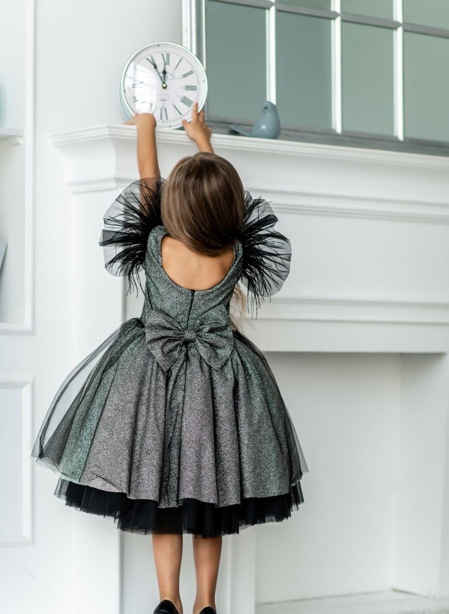 Детское платье Марси глиттер сетка