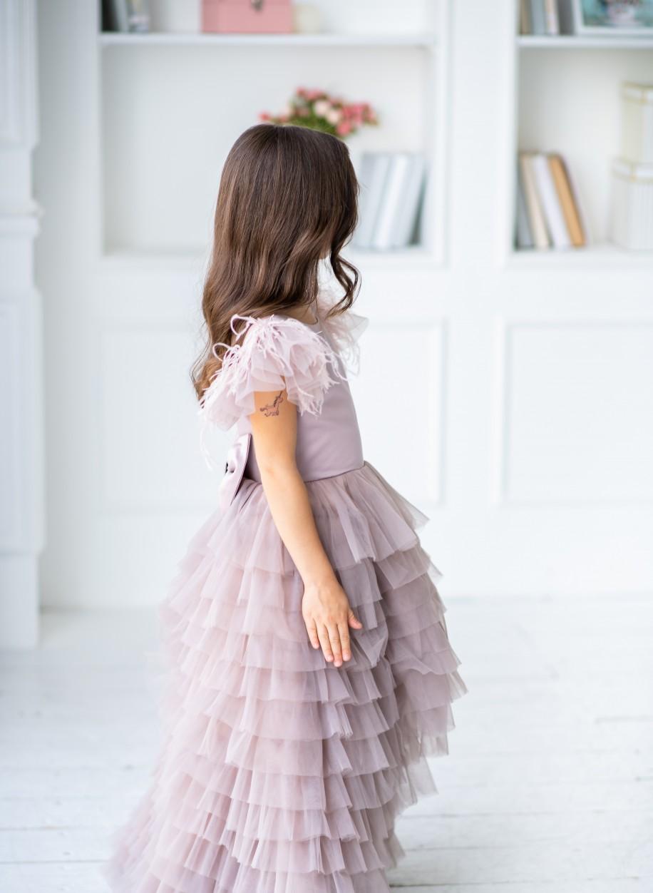 Детское платье Мисси атлас.
