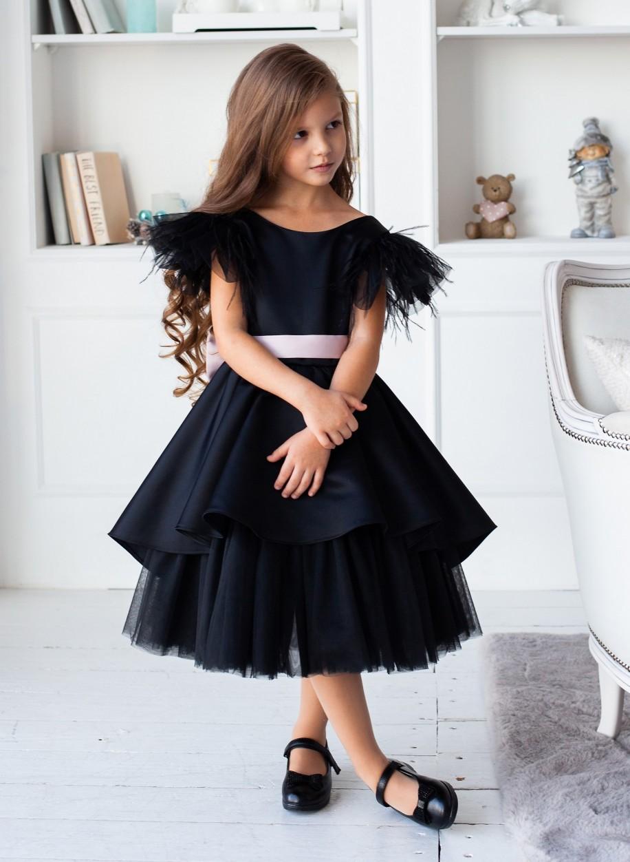 Детское платье Миа атлас.