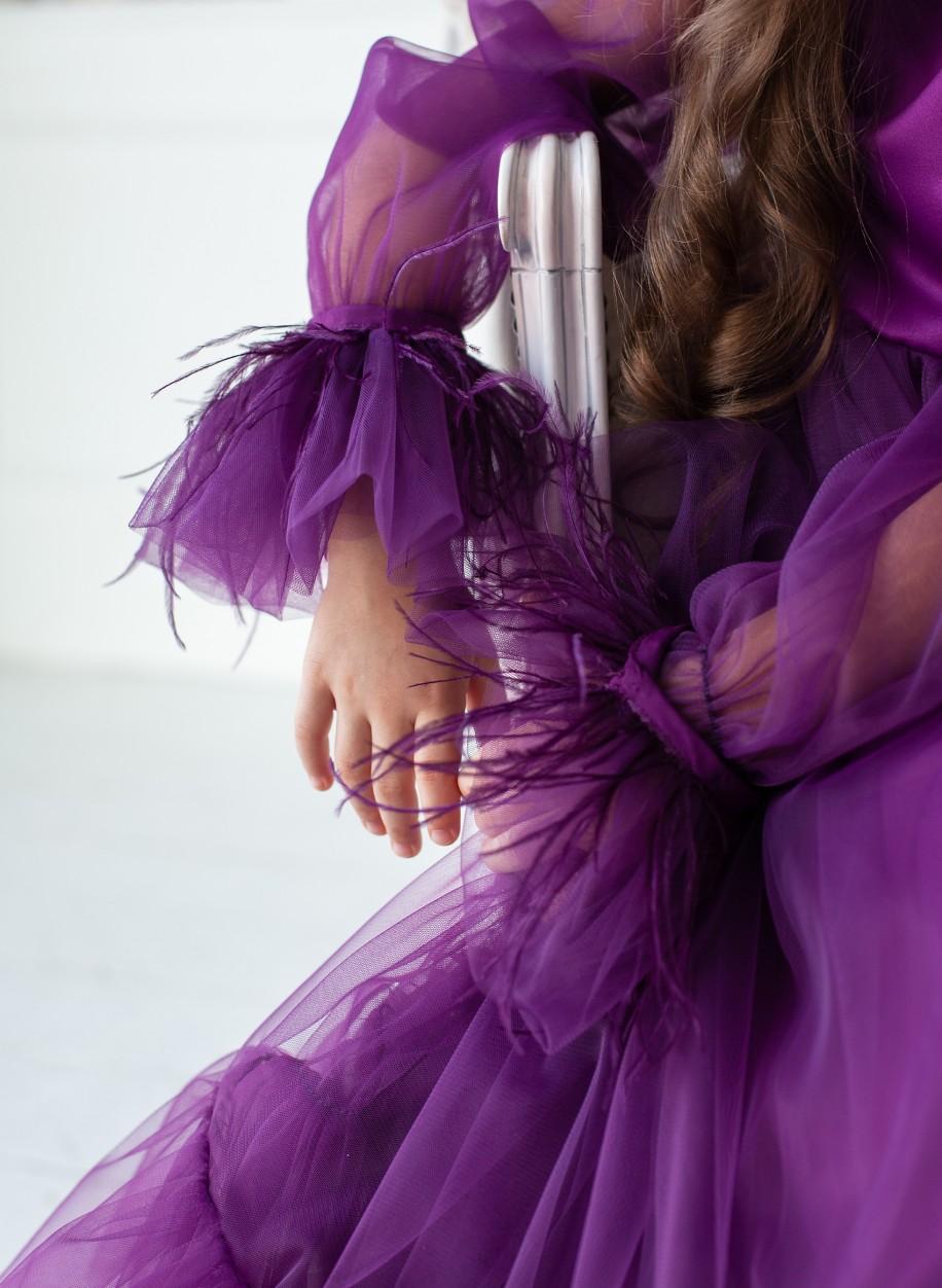 Детское платье Мими рукав манжет