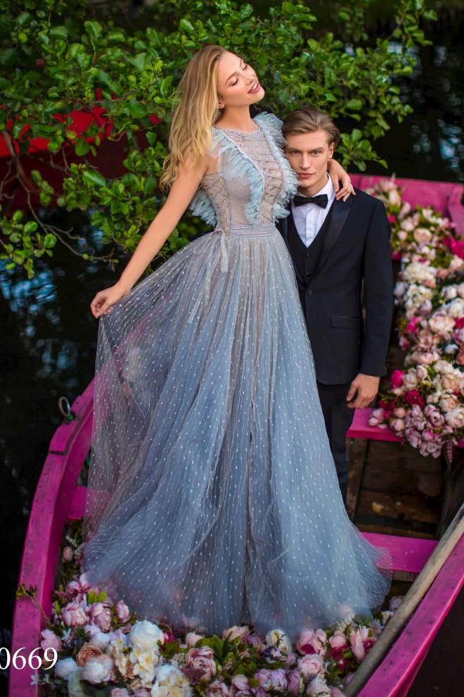 Вечернее платье Tarik Ediz 50669