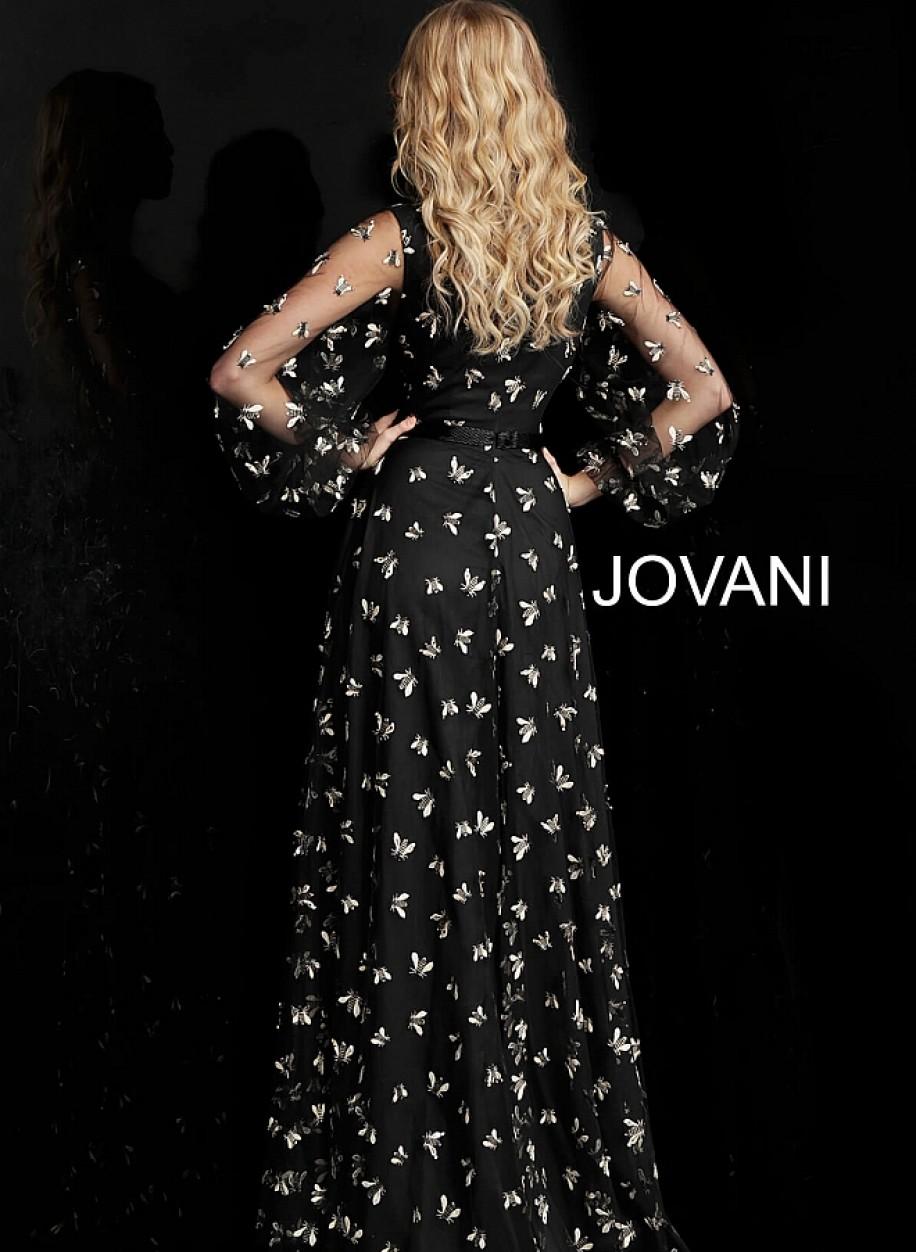 Закрытое вечерние платье для мам Jovani 63582