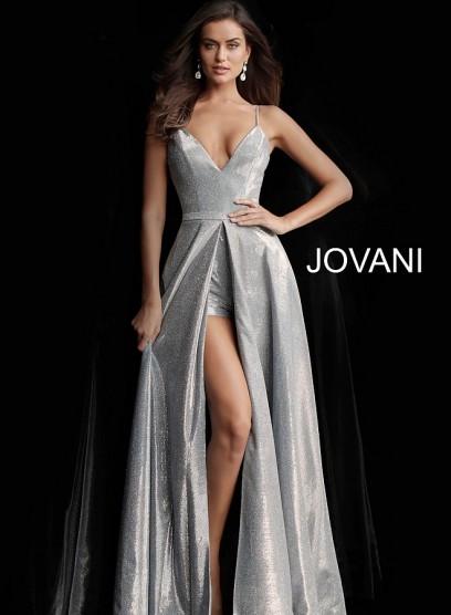 Платье трансформер с шортиками  Jovani 66284
