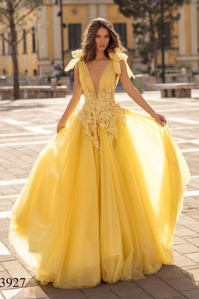 Вечернее платье Tarik Ediz 93927