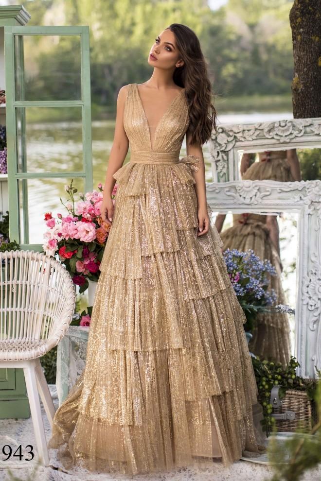 Вечернее платье Tarik Ediz 93943