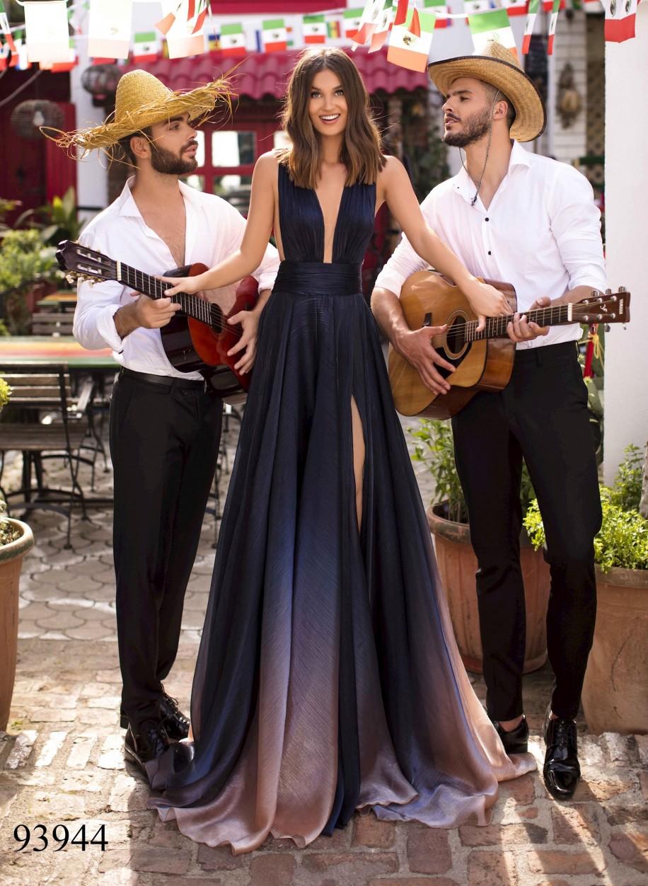Вечернее платье Tarik Ediz 93944