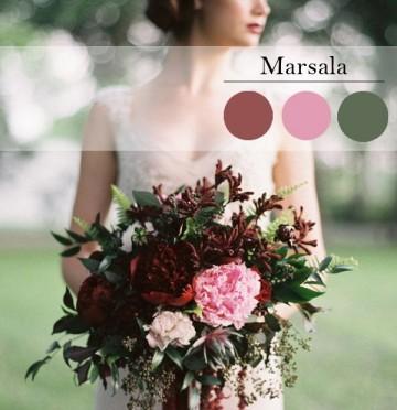 Как выбрать свой цвет для свадебного букета?