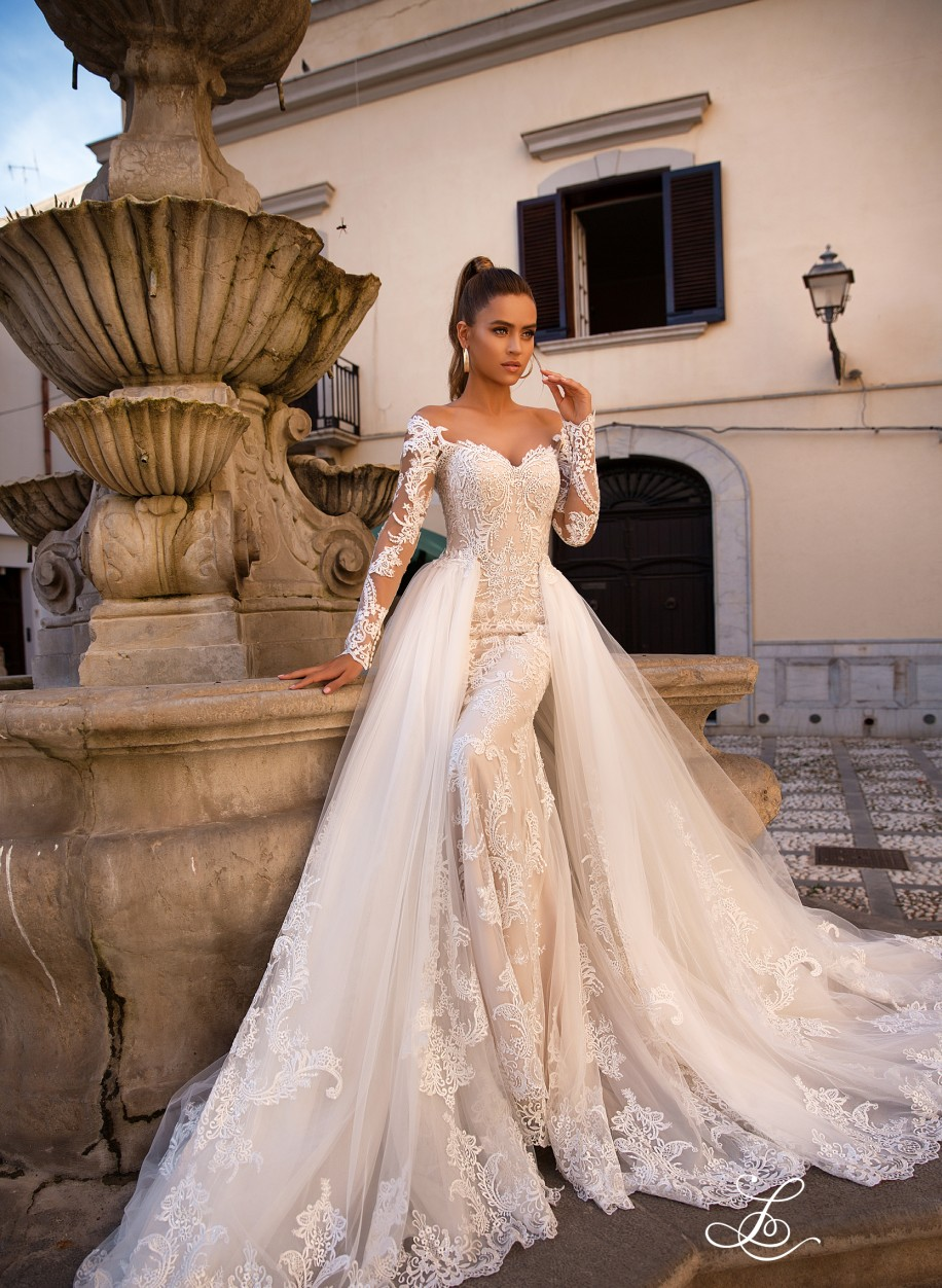d2eced0c47e18a Свадебное платье Lussano 19046: купить в салоне La Novale по низкой цене