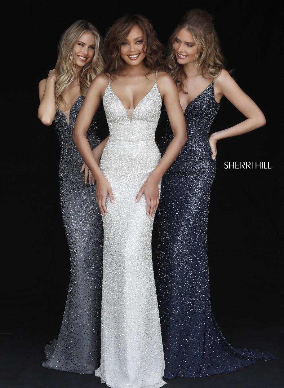 e48e7223fd5 Бомбезное платье Sherri Hill с силуэтом рыбки 50860  купить по ...