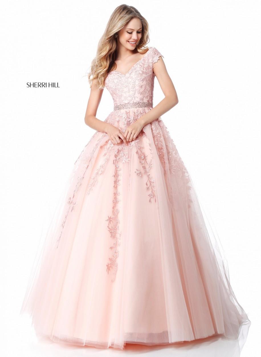 edf185c05f6 Вечерние платье Sherri Hill 51905  купить по низким ценам из ...
