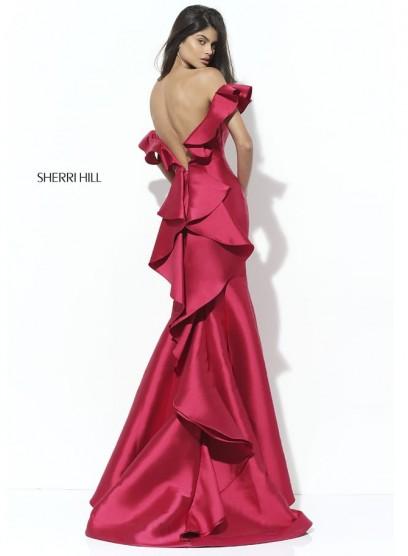 Необыкновенное вечернее платье Sherri Hill 50576