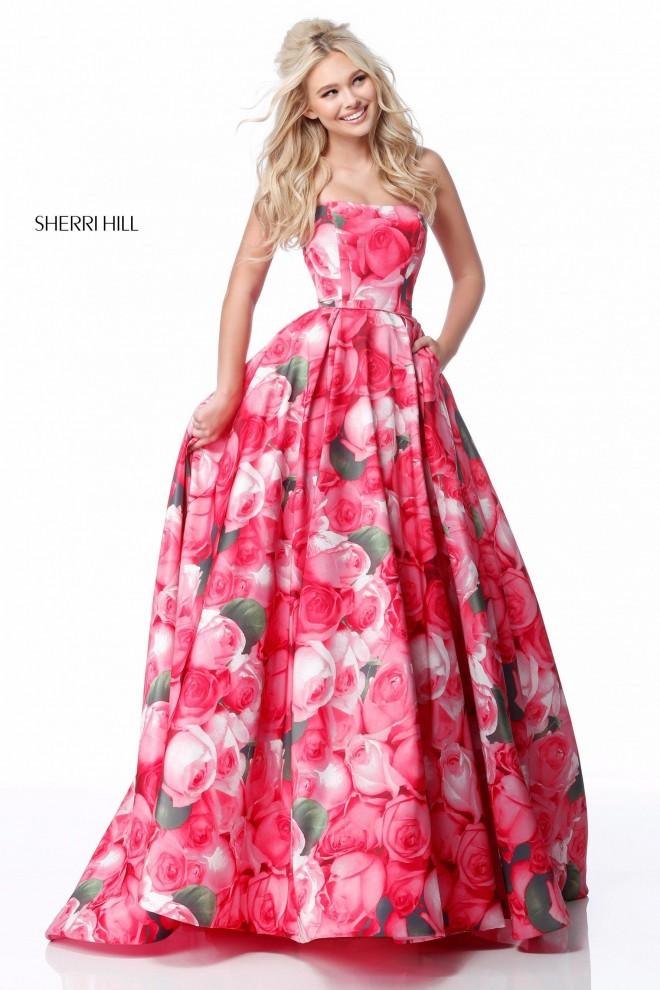 Вечерние платье Sherri Hill 51800