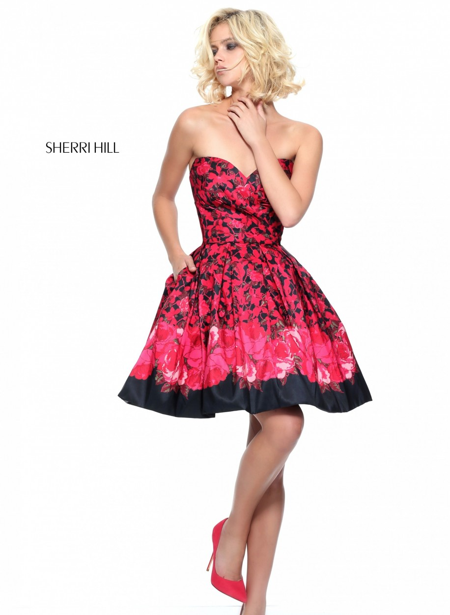 Вечернее платье Sherri Hill 51179